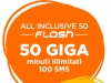 【WIND】All Inclusive Special 50 Flash意大利无限分钟+100SMS+50GB 6.99欧